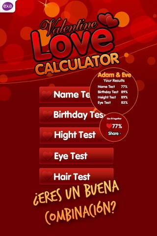Super Love Calculator screenshot 1