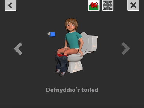 Screenshot #5 pour Mynd i'r Toiled / Using the Toilet