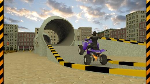 Quad Bike Race Stunt 3d A Crazy Stunt Bike Simulator On The App