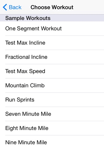 Treadmill Controller Free screenshot 3