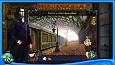 Haunted Train: Spirits of Charon - A Hidden Object Game with Ghosts-3