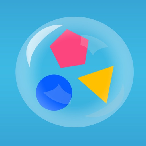 Bubble Shapes - A  Playful Way to Learn Shapes!