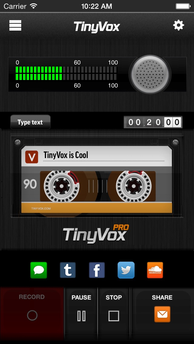 download TinyVox Pro • voice memos for the win! apps 1
