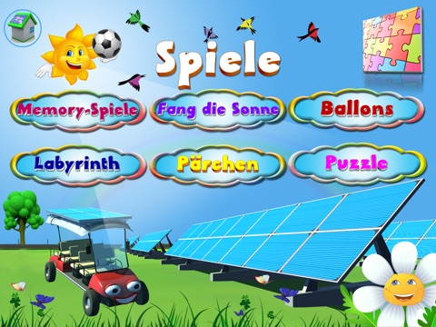 Frohliche Sonne for iPad screenshot 2