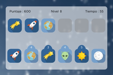 Space Match - Free Memory Game screenshot 1