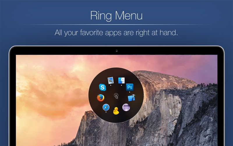 Ring Menu Screenshots
