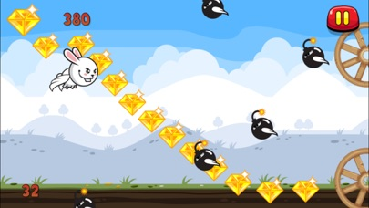 download Aaah! It's Flappy the Crazy Rabbit Vs Angry Clumsy Bombs! Christmas HD Free Edition apps 0