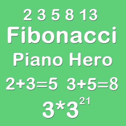 Piano Hero Fibonacci 3X3 - Sliding Number Block And Playing The Piano iOS App