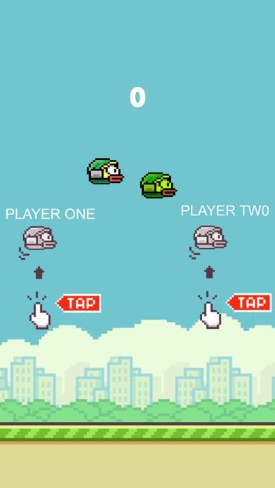 Flappy 2 Players - 彼らは鳥をピクセルのスクリーンショット2