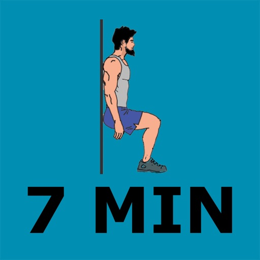 7 Minute SCIENTIFIC Workout routines - Your Personal Fitness Trainer for Calisthenics exercises - Work from home, Lose weight, Stay fit! Icon