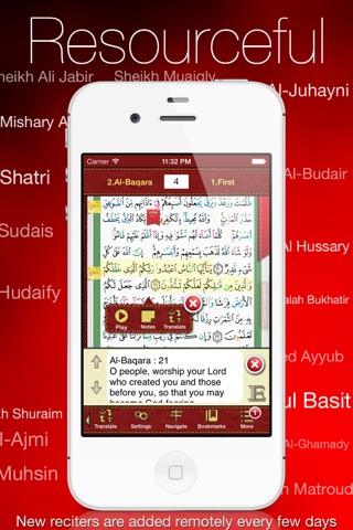 Tajweed Quran - مصحف التجوید screenshot 1