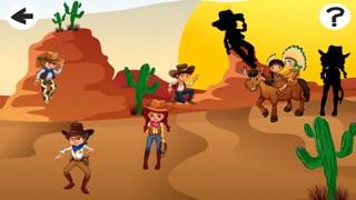 Screenshot of Cowboys Bambini Giochi5