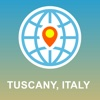 Tuscany,  Italy Map - Offline Map,  POI,  GPS,  Directions