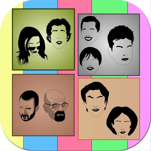 Guess TV Show Shadow Quiz iOS App