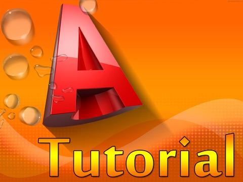 Tutor for Autocad 2D, 3D screenshot 1