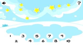 Screenshot of 123 Pazzo Conteggio del Ghiaccio, Della Neve e di Natale Animali: i Ragazzi di Imparare Gioco4