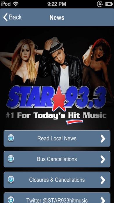 STAR 93.3 FM Radio screenshot three