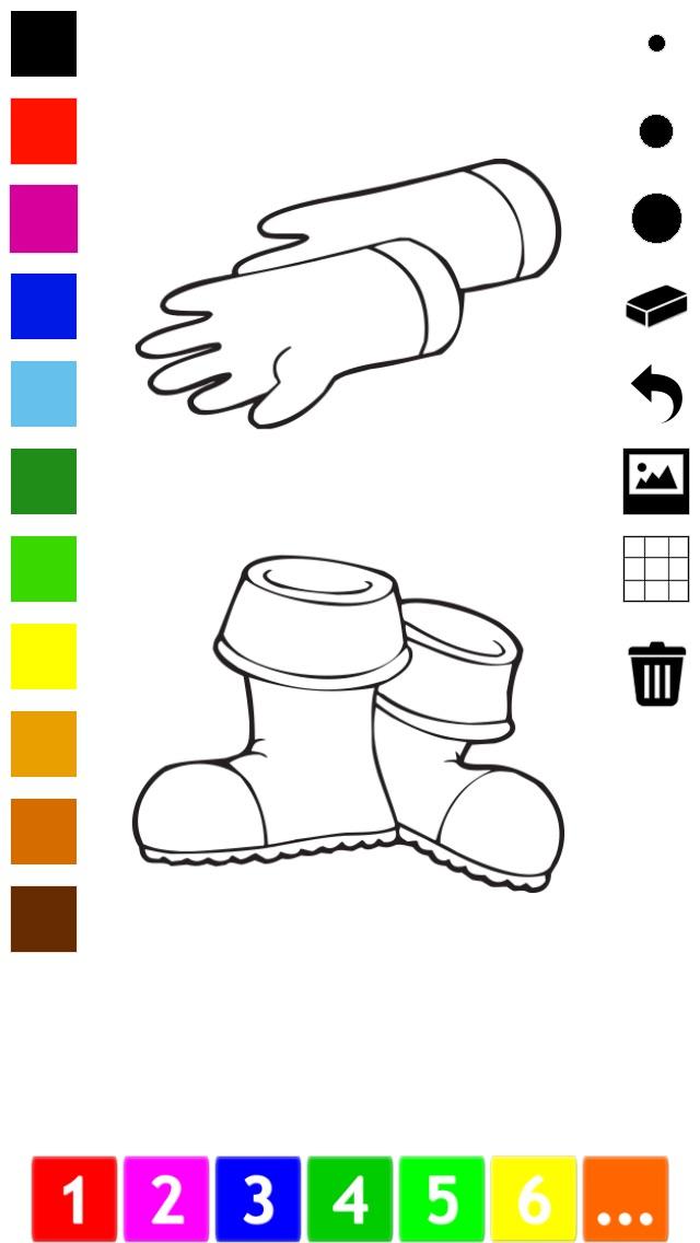 Actif! Livre À Colorier des Animaux Pour Les Enfants D'apprendre À Peindre des TableauxCapture d'écran de 4
