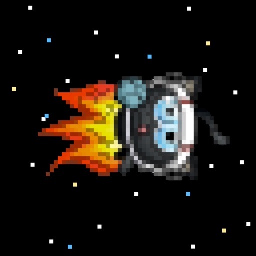 Planet Hopping Space Cat iOS App