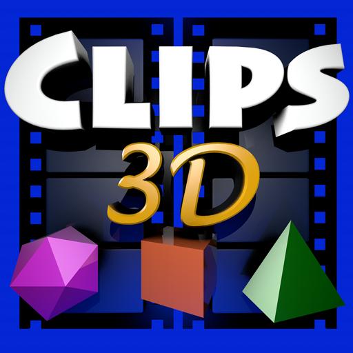 适用于 iMovie 和 Final Cut 的Clips 3D