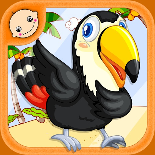 Jigsaw Puzzle With Zoo Animals - Preschool Learning Game for Kids and Toddlers iOS App