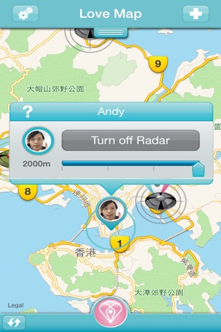 Love Map screenshot 2