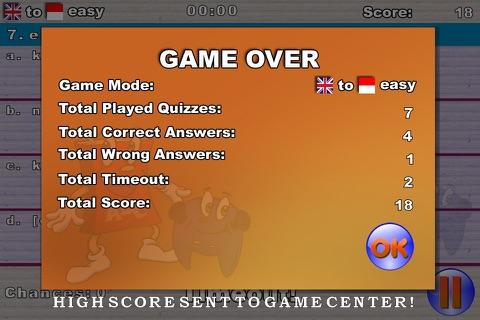 Kamus Lengkap Quiz Game screenshot 3