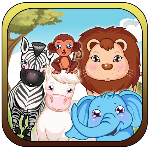Falling Animals Match - Happy Barn Puzzle Pop Paid iOS App