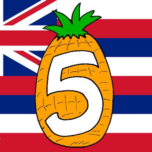 Hawaii Five in a Row iOS App