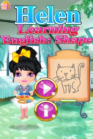 Helen Learning English Shape screenshot 1