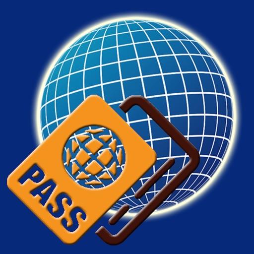 万国签证照