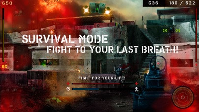 Screenshots of Overkill for iPhone