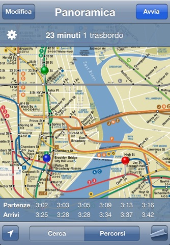 iTrans NYC Subway screenshot 1