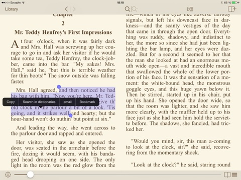 Screenshot #1 for i2Reader