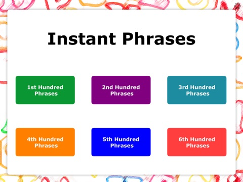 Screenshot #1 for Instant Phrases by Teach Speech Apps