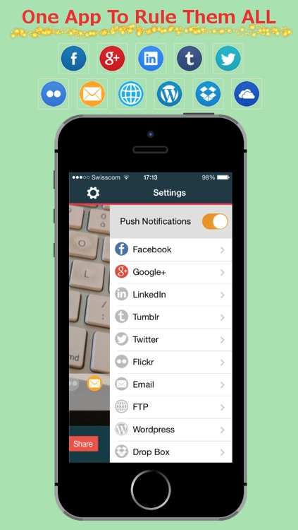 PikScrum - Easy Share to multiple Social Networks by Joseph Assaf