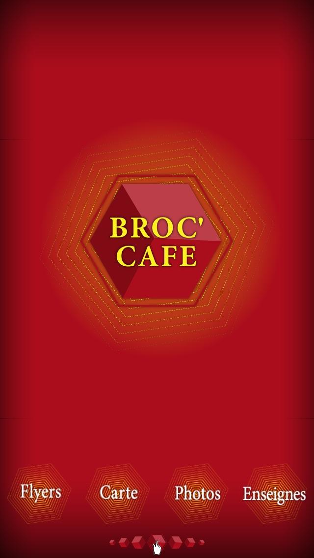 Broc' CafeCapture d'écran de 1