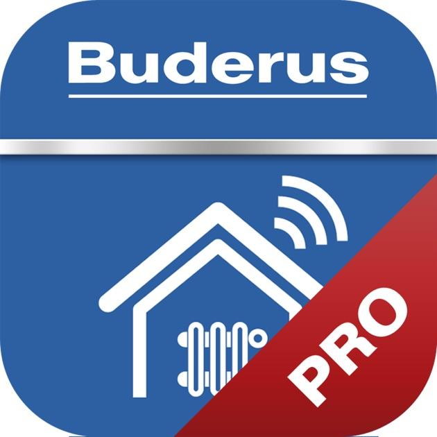buderus app easy control pro klimaanlage und heizung zu. Black Bedroom Furniture Sets. Home Design Ideas