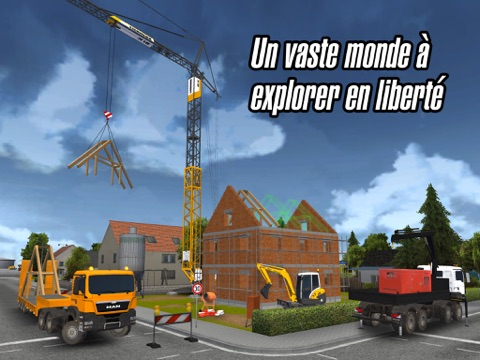 Construction simulator 2014 par astragon software gmbh for Construction maison simulation