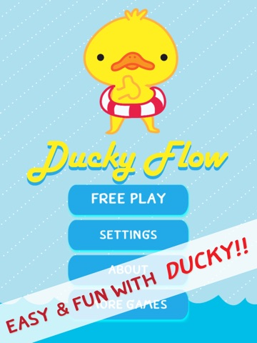 Ace of Duck Amuck Faces - Ducky Match and Link Fun Flow PRO-ipad-1
