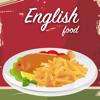Inglês food livro de receitas. Melhor culinária receitas tradicionais e pratos clássicos.