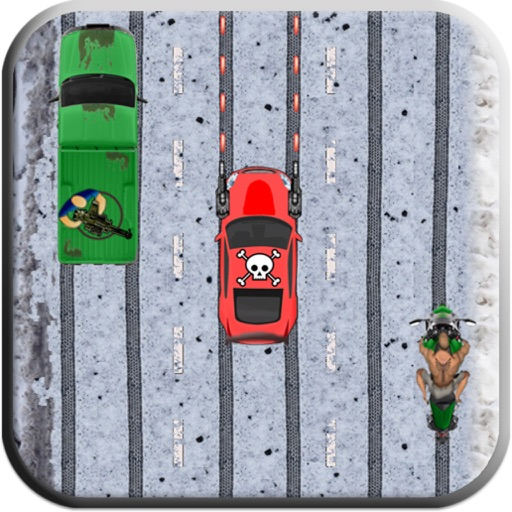 Highway rush race car game iOS App