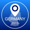 Germany Offline Map + City Guide Navigator, Attractions and Transports