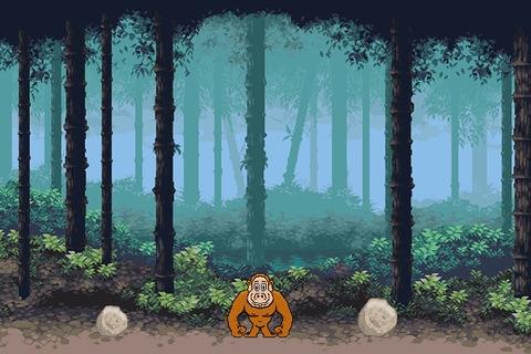 Jump Chimps - A Fun free addictive dodge rocks jumping game experience screenshot 3