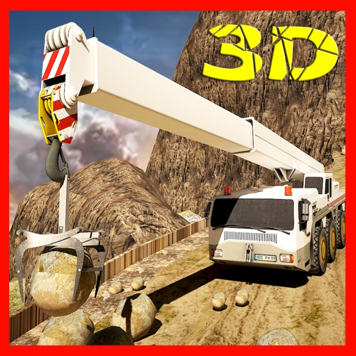 Hill Climber Mountain Drill Crane Simulator 3D iOS App