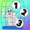 Attivo! Gioco Per i Bambini Per Imparare a Contare 1-10 Con Animali