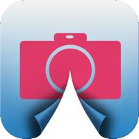 Wrap Camera HD - Fotos und Bilder falten und rollen wie Papier, über 200 Effekte und Filter