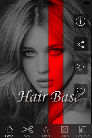 HairBase screenshot 2