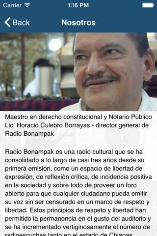 Radio Bonampak screenshot 2