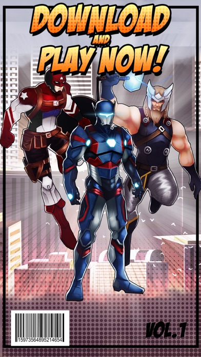 Superhero Iron Steel Justice – The Alliance League of 3 FX Man 2 Free-3